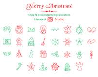 30 FREE Christmas Icons