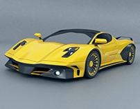 Wasper supercar concept