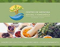 Logo + Web + Posicionamiento | Centro Medicina Natural