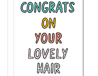 Many Congrats Greetings Card Collection