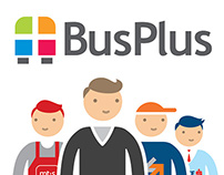 BusPlus - Print and TVC campaign