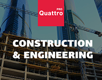 Website «Quattro Pro»: Construction & Engineering