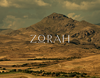 ZORAH - Website design