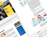 COPECSA: Website design