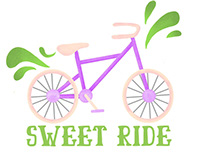 ICan Shine Bike Camp Stickers