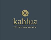 Kahlua all day long cuisine Branding