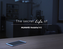 HUAWEI the secret life of MediaPad M3