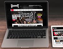 Diseño web - Against