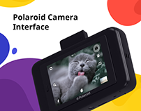 Polaroid Snap Touch Camera Interface