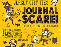 Journal Scare! (a Jersey City Ties event)