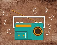 Imágenes de portada en FACEBOOK de grupo Radio Roncha.