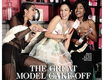 Cosmopolitan October 2015-The Great Model Cake Off