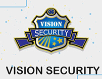 video motion graphic for vision security