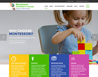 Montessori Children's House website