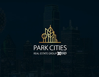 Logo Branding& Process for Real Estate PARTK CITIES