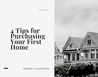 4 Tips for Purchasing Your First Home