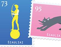 STAMP DESIGN / SIAULIAI