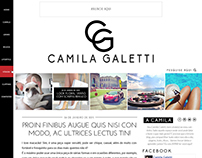 Camila Galetti - UX & UI, for Wordpress