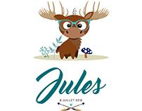 Jules (Faire-part de naissance)