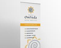 Centre OmVeda - Visual Identity