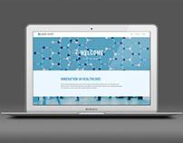Agility Health: website design