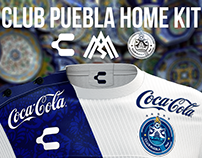 Club Puebla home kit concept
