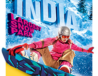 Third Creative Ski India Delhi/snow world Mumbai