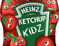 HEINZ Label, package and visibility