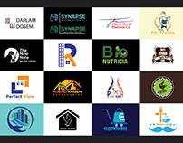 ✰ 22 Logo package & Free Logo Mocup Download ✰