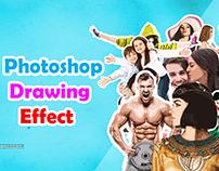Photoshop Drawing effect (Cartoonize)