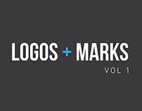 Logos + Marks Vol 1