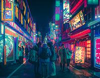 Dream World II - Japan's Night Dreamscapes