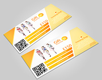 Gift Cards - Voucher Example(Art Works)Graphic Design
