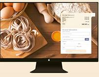 Cooking School UI Design