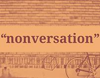 """Nonversation"""
