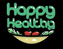 """Happy Healthy""Corporate Design OPME13 Opdracht"