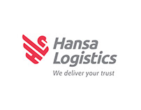 Logo designed for Hansa Logistics
