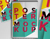 3 Free Poster Mock-ups