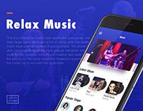 Relax Music App