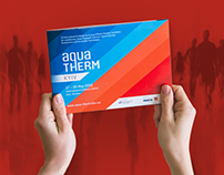 The brochure for Aqua-Therm