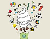 Starbucks Summer Emoji Campaign