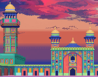 Monuments and Memories in Pixels