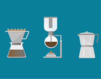 How to choose coffee? / Decision-making Infographic