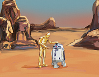Star Wars Squares