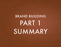 Building the brand w/research