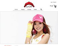 le cap website desktop version