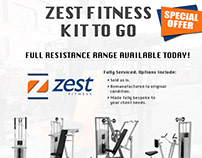Promo ads for gym equipment