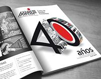 ANIF - 40 Años - Aviso de prensa