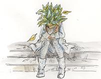 Spot Illustration for The Rumpus