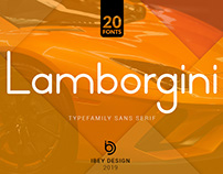 Lamborgini - Free Font